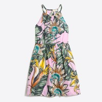 Girls' floral sundress