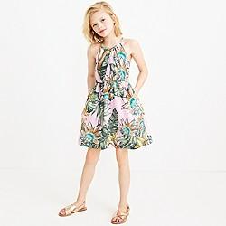 Girls' floral sundress