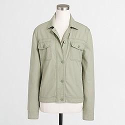Factory boyfriend military jacket