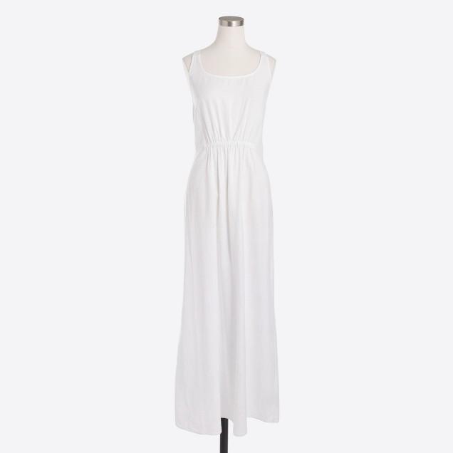 Cross-back dress