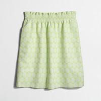 Dot jacquard sidewalk skirt