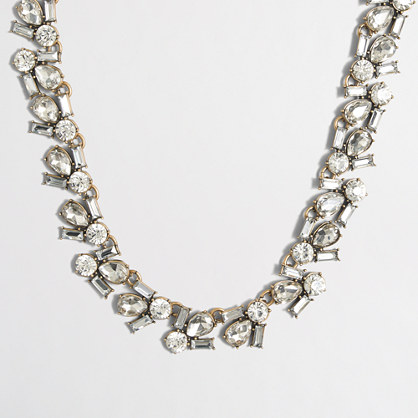Crystal shapes necklace