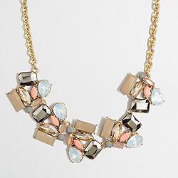 Deco stone necklace