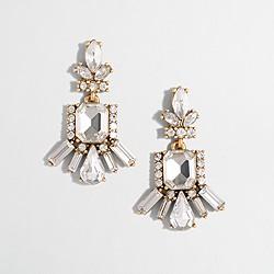 Factory floral chandelier earrings