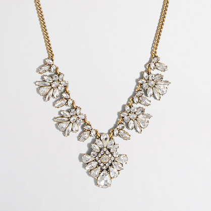 Ornate crystal necklace