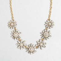 Crystal sunflower necklace