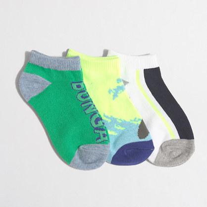 Boys' surf socks three-pack