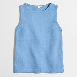 Factory cotton sweater tank