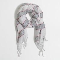 Neon thread scarf