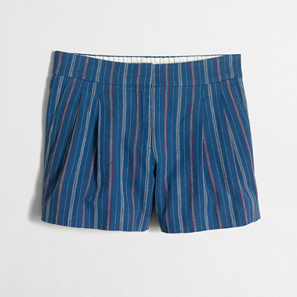 "4"" linen-cotton dobby short"