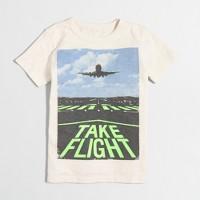 Boys' glow-in-the-dark take flight storybook T-shirt