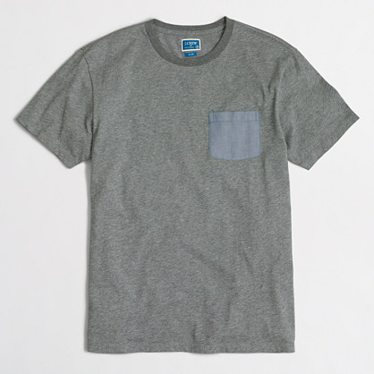 Chambray pocket T-shirt