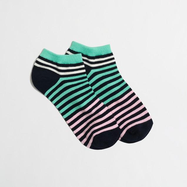 Striped tennie socks