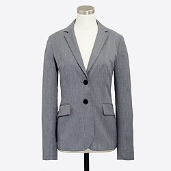 Factory lightweight wool blazer