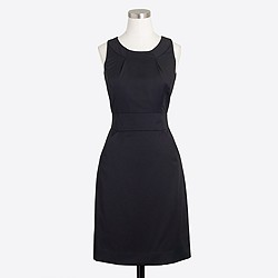 Factory wool dress with pockets