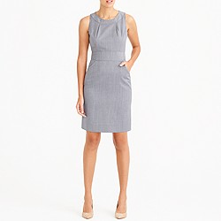 Wool dress with pockets