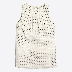 Printed tiered tank top