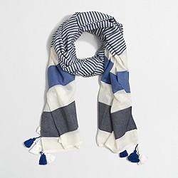 Factory tassel scarf