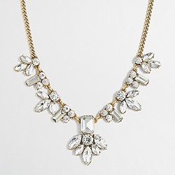 Factory crystal centerpiece necklace