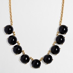 Factory bubble stone necklace