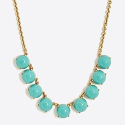 Bubble stone necklace
