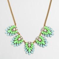 Layered gemstone necklace