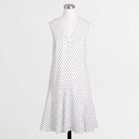 Printed flounce dress