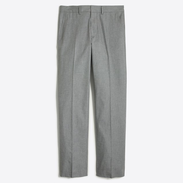 Bedford dress pant in heathered cotton