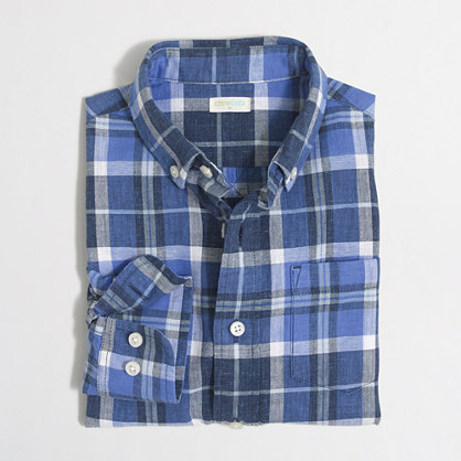 Boys' homepsun shirt