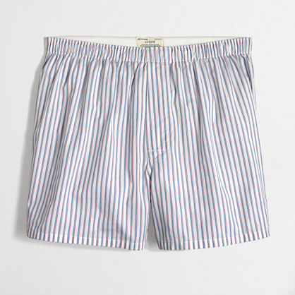 Striped boxers