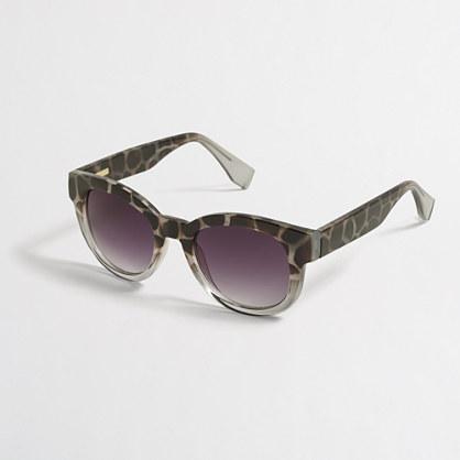 Leopard fade sunglasses