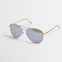 Factory aviator sunglasses