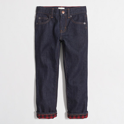 Double L Jeans, Flannel-Lined Natural Fit Comfort Waist. Double L Jeans, Flannel-Lined Natural Fit Comfort Waist $ Boys' Performance Stretch Jeans, Lined. Boys' Performance Stretch Jeans, Lined $ With Adjustable Waistband.