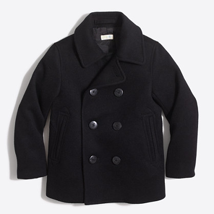Boys&39 wool peacoat : Coats &amp Jackets | J.Crew Factory