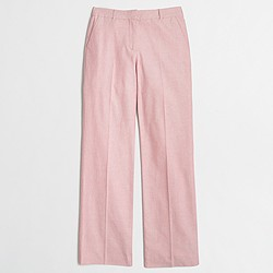 Factory cotton oxford trouser