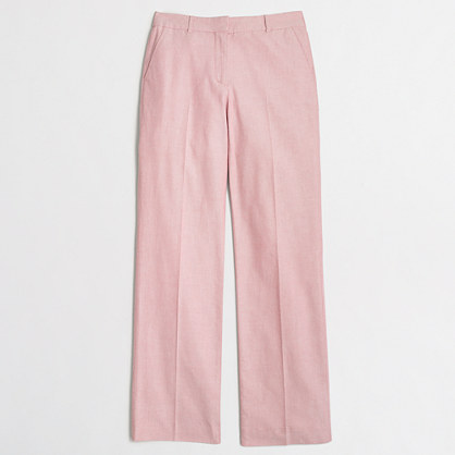 Cotton oxford trouser