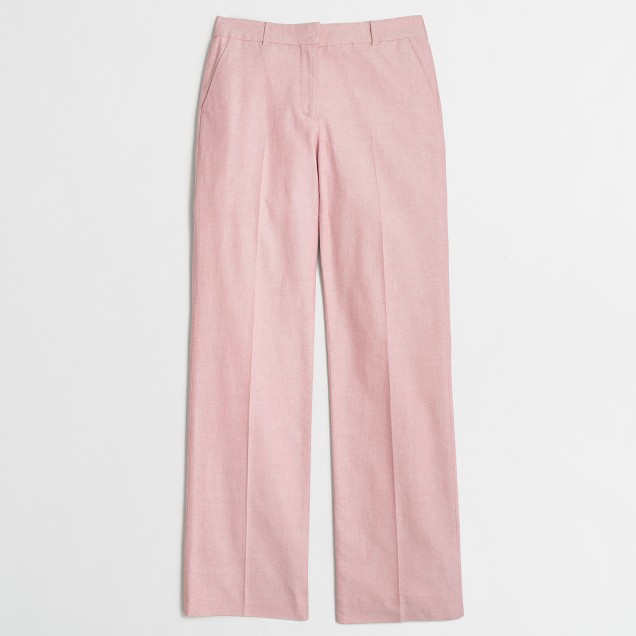 Cotton oxford trouser