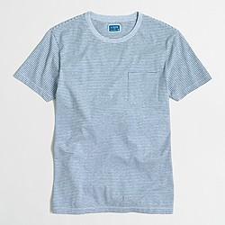 Slim short-sleeve striped T-shirt