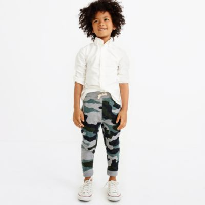 Boys' camo sweatpant
