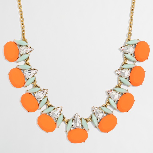 Highlight cluster necklace