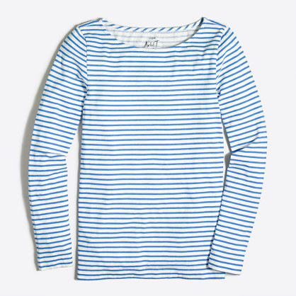 Striped artist T-shirt