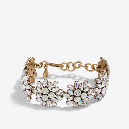 Crystal firework bracelet
