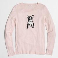 Intarsia dog Teddie sweater