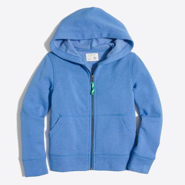 Boys' hoodie with neon drawcord