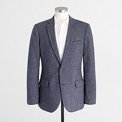 Factory Thompson suit jacket in Donegal wool
