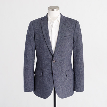 Thompson suit jacket in Donegal wool