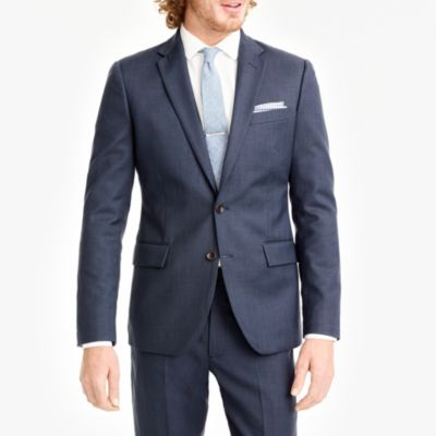Thompson classic-fit suit jacket in worsted wool factorymen online exclusives c