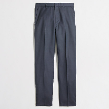Thompson classic-fit suit pant in worsted wool
