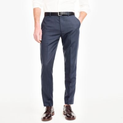 Thompson classic-fit suit pant in worsted wool factorymen online exclusives c