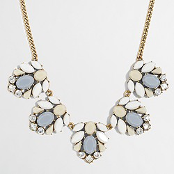 Factory mixed stone clusters necklace